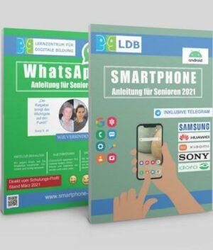 Bundle: Smartphone- und WhatsApp Anleitung für Senioren