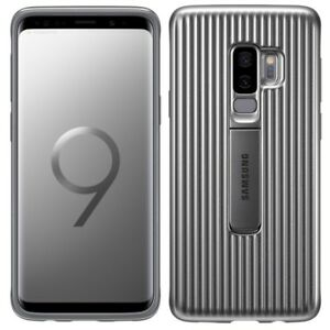 Samsung Galaxy S9 protective Standing cover grau 1